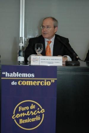 Intervención del Ministro de comercio en el foro de Benicarló