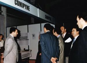 Primer foro Torrepacheco - Visita autoridades stand Comipyme