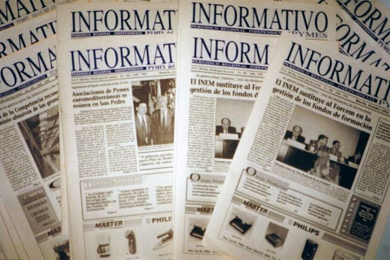 Periódico mensual INFORMATIVO PYMES